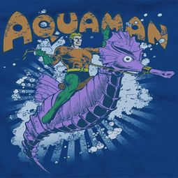 Aquaman Ride Free Shirts