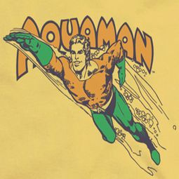 Aquaman Swim Through Shirts