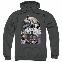 Archer & Armstrong Hoodie Dropping In Charcoal Sweatshirt Hoody