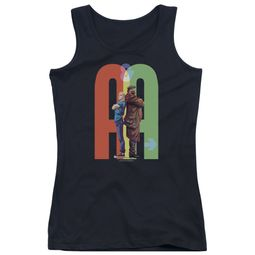 Archer & Armstrong Juniors Tank Top Back To Back Black Tanktop