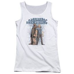Archer & Armstrong Juniors Tank Top Stare Down White Tanktop