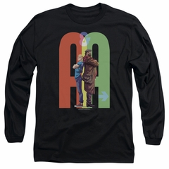 Archer & Armstrong Long Sleeve Shirt Back To Back Black Tee T-Shirt