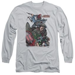 Archer & Armstrong Long Sleeve Shirt Fight Back Silver Tee T-Shirt