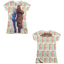 Archer & Armstrong Shirt Back To Back Sublimation Juniors Shirt Front/Back Print