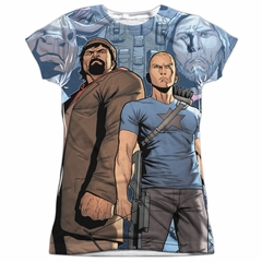 Archer & Armstrong Shirt Heroes Sublimation Juniors Shirt