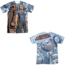 Archer & Armstrong Shirt Heroes Sublimation Shirt Front/Back Print
