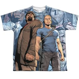 Archer & Armstrong Shirt Heroes Sublimation Youth Shirt