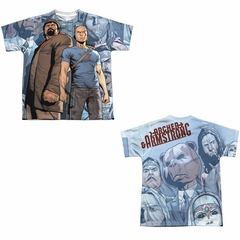 Archer & Armstrong Shirt Heroes Sublimation Youth Shirt Front/Back Print