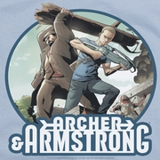 Archer & Armstrong Smack Down Shirts