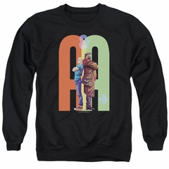 Archer & Armstrong Sweatshirt Back To Back Adult Black Sweat Shirt