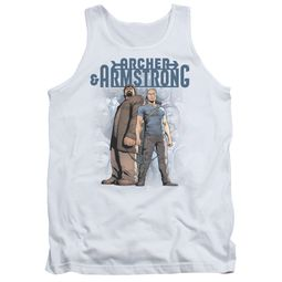 Archer & Armstrong Tank Top Stare Down White Tanktop