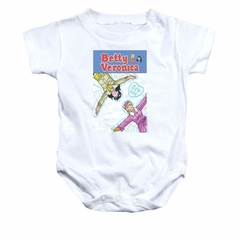 Archie Baby Romper Snow Angel White Infant Babies Creeper