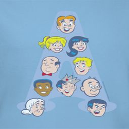 Archie Character Heads Shirts