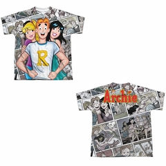 Archie Comic Shirt With The Girls Sublimation Youth Shirt Front/Back Print