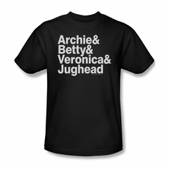 Archie Shirt Ampersand List Black T-Shirt