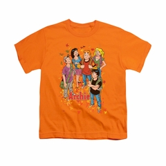 Archie Shirt Kids Fall Orange T-Shirt