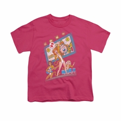 Archie Shirt Kids The Big Screen Hot Pink T-Shirt