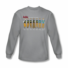 Archie Shirt Timeline Long Sleeve Silver Tee T-Shirt