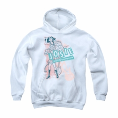 Archie Youth Hoodie Glam Rockers White Kids Hoody