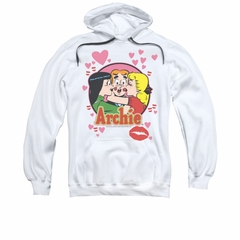 Archie Youth Hoodie Kisses White Kids Hoody