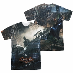 Arkham Knight Shirt Car Sublimation Shirt Front/Back Print