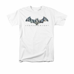 Arkham Knight Shirt Descending Logo White T-Shirt