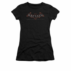 Arkham Knight Shirt Juniors Logo Black T-Shirt