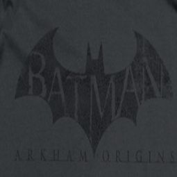 Arkham Origins Distressed Logo Shirts