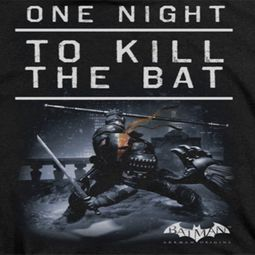 Arkham Origins Kill The Bat Shirts