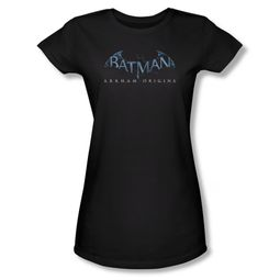 Arkham Origins Shirt Juniors Logo Black T-Shirt