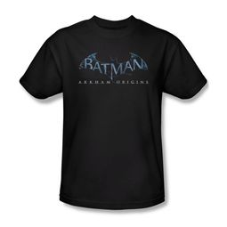Arkham Origins Shirt Logo Black T-Shirt