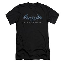 Arkham Origins Shirt Slim Fit Logo Black T-Shirt