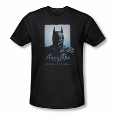 Arkham Origins Shirt Slim Fit Two Sides Black T-Shirt