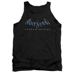 Arkham Origins Shirt Tank Top Logo Black Tanktop