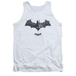 Arkham Origins Shirt Tank Top Logo Of Enemies White Tanktop
