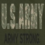 Army Camo Army Strong Shirts