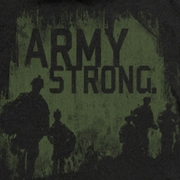 Army Distressed Army Strong Shirts