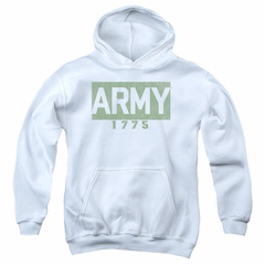 Army Kids Hoodie 1775 White Youth Hoody