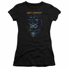 Army Of Darkness Juniors Shirt Evil Ash Black T-Shirt