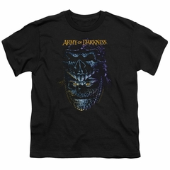 Army Of Darkness Kids Shirt Evil Ash Black T-Shirt