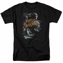 Army Of Darkness Shirt Covered Black T-Shirt