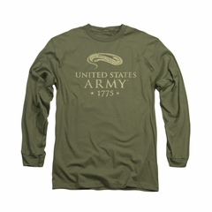 Army Shirt 1775 Long Sleeve Olive Tee T-Shirt