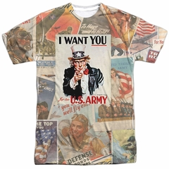 Army Shirt I Want You Sublimation T-Shirt