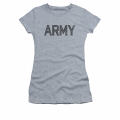 Army Shirt Juniors PT Gear Athletic Heather T-Shirt