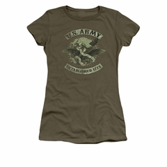 Army Shirt Juniors Union Eagle Olive T-Shirt