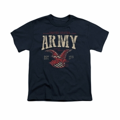 Army Shirt Kids Est 1775 Navy T-Shirt