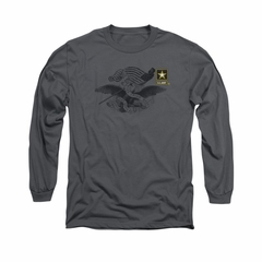 Army Shirt The Union Long Sleeve Olive Tee T-Shirt