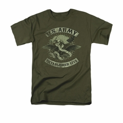 Army Shirt Union Eagle Olive T-Shirt