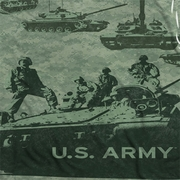 Army Tank Up Sublimation Shirts