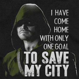 Arrow Save My City Shirts